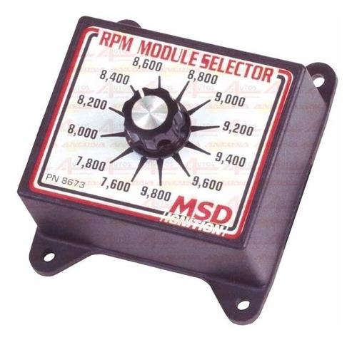 módulo seletor rpm msd #8673 7600 a 9800 cód.:02281