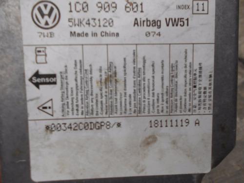 modulo sensor airbag bolsa de aire vw 1c0 909 601