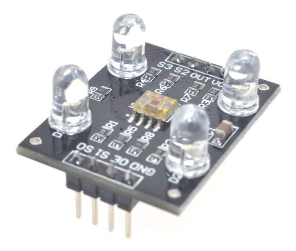 Módulo Sensor De Color Tcs230 Para Arduino Pic