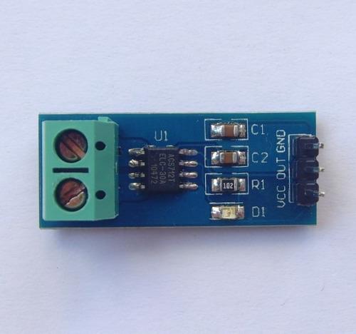 modulo sensor de corriente acs712 30a ideal arduino