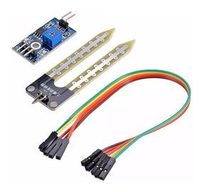 Modulo Sensor Detector Humedad Suelo Tierra Placa Soil Arduino PIC Higrometro