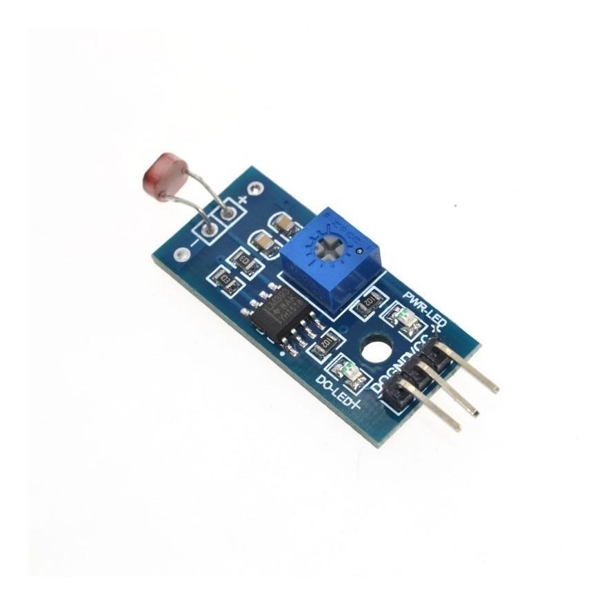 Modulo Sensor De Luz Para Arduino Fotosensible Pic