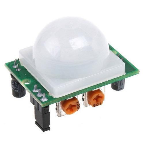 módulo sensor de movimiento infrarrojo hc-sr501 pir arduino