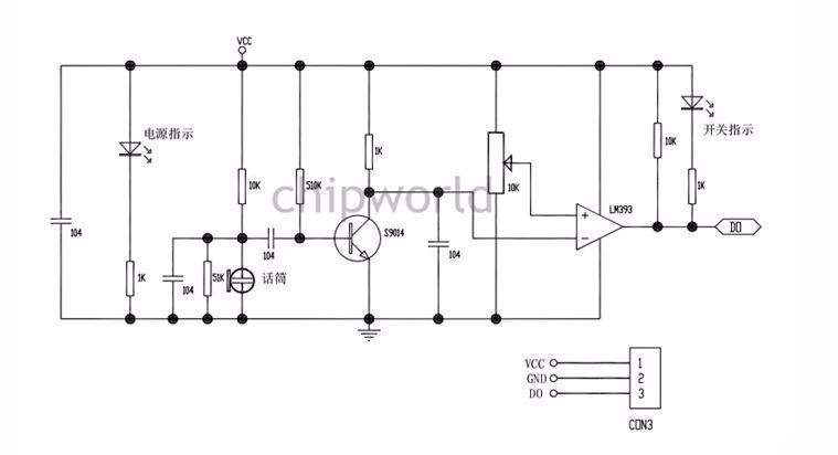 Módulo Sensor De Som Lm393 Arduino Pic Raspberry