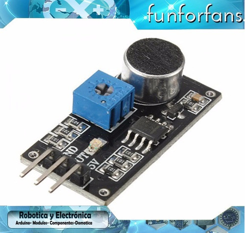 modulo sensor de sonido arduino raspberry pic