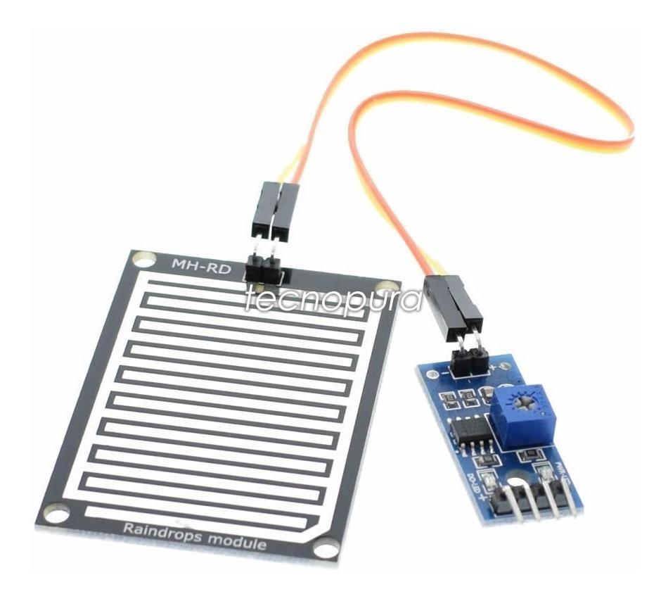 Módulo Sensor Detector De Lluvia Para Arduino Pic Raspberry