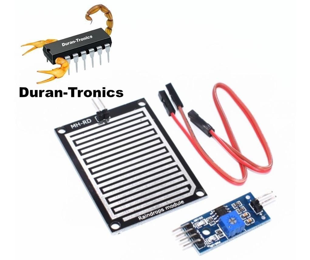 Sensor de gotas arduino