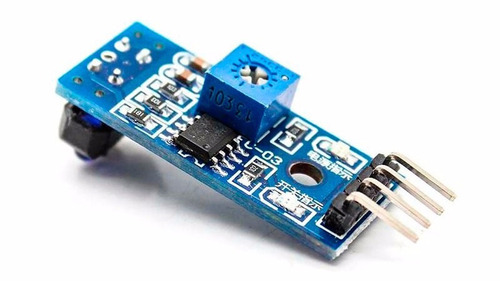 módulo sensor infrarrojo tcrt5000 seguidor de linea