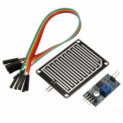 módulo sensor para detectar de chuva
