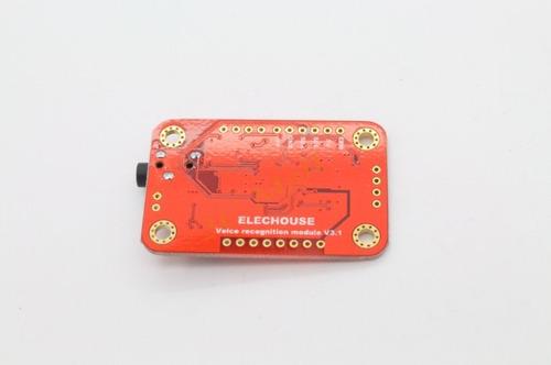 módulo sensor reconhecimento de voz arduino pic + cód exmplo