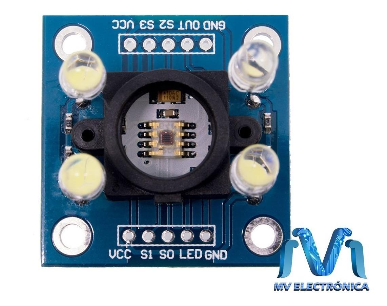 Modulo Sensor Reconocimiento De Color Tcs3200 Para Arduino