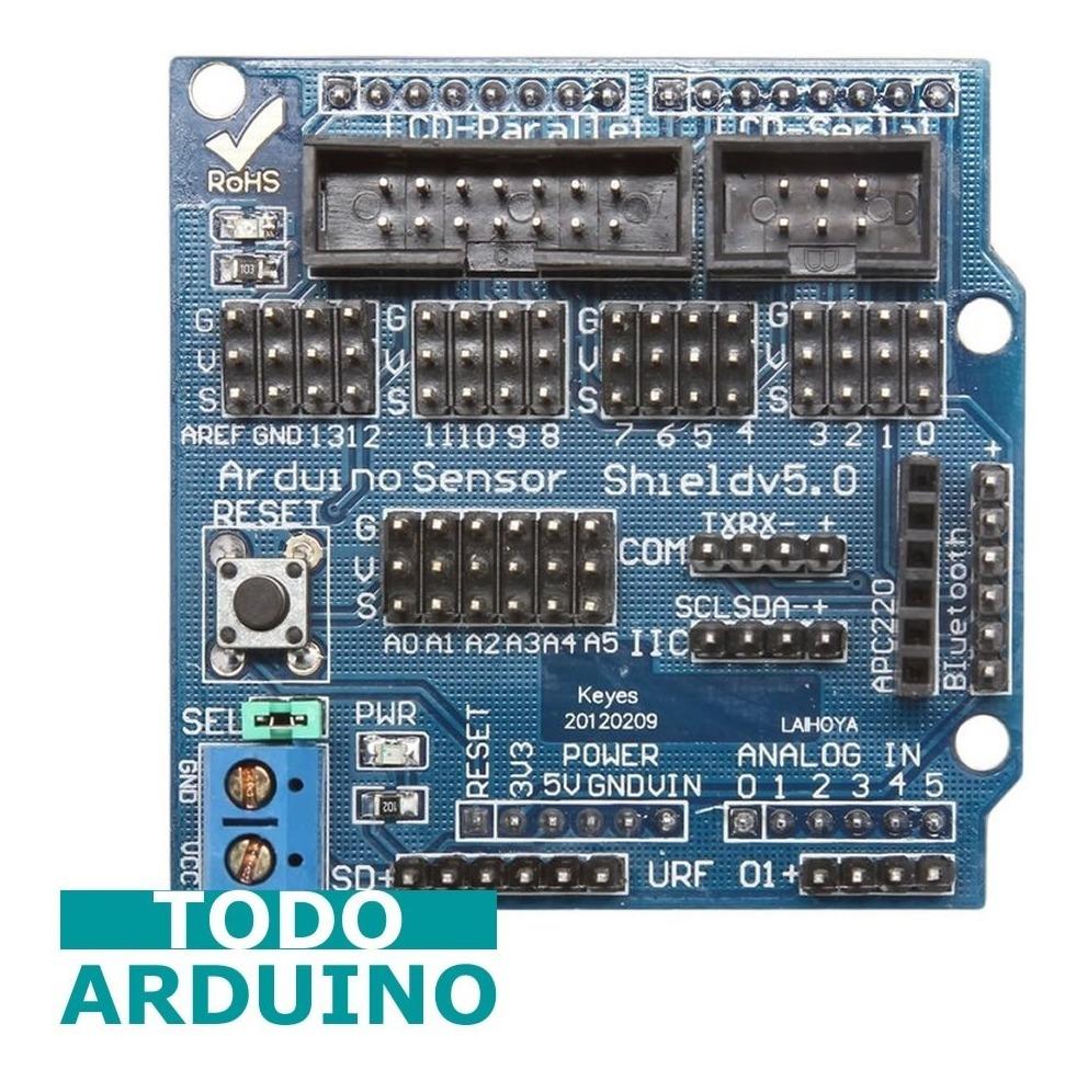 Módulo Sensor Shield V5 Tarjeta De Expansión Para Arduino