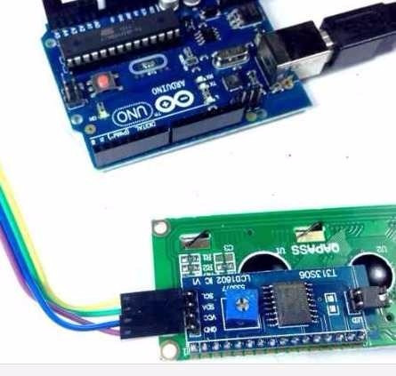 modulo serial i2c / iic p/ lcd 16x2 - arduino / pic