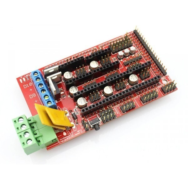 Modulo Shield 1 4 Cnc Para Arduino Mega Impresora 3d