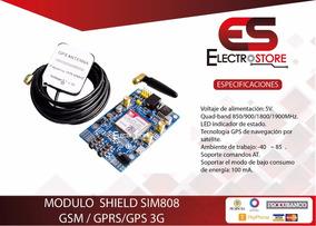 Modulo Shield Arduino Sim808 Gsm Gps Gprs + Antenas Tracking
