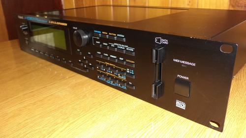 módulo sintetizador midi rack roland jv-2080, impecable