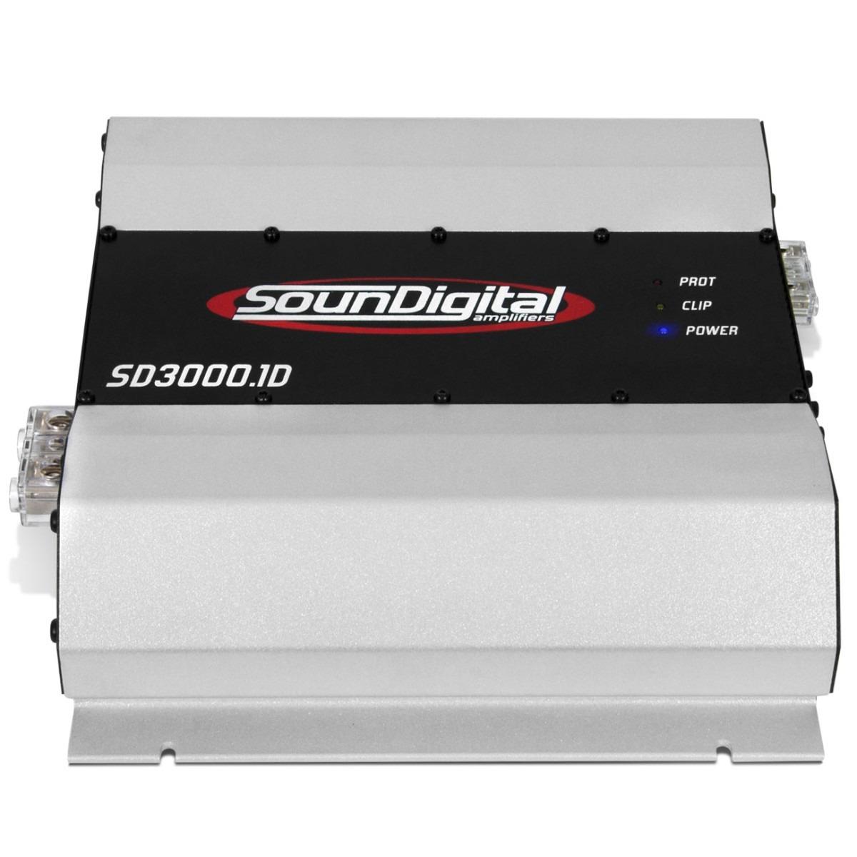 Modulo Soundigital 3k 3000w Rms Sd3000 Amplificador Brindes
