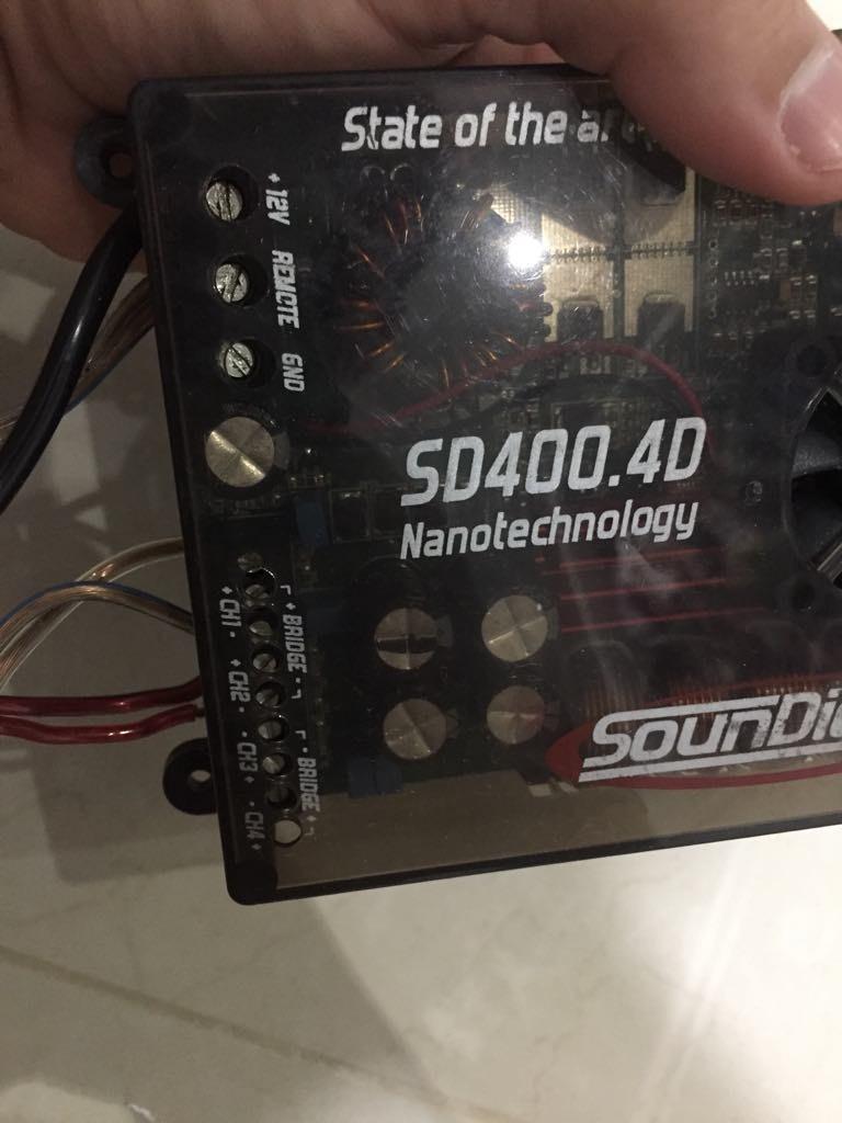 Modulo Soundigital Nano Sd 400 4d Usado 1 Mës Apenas !!!!