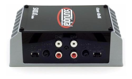 modulo soundigital sd400.4 sd 400 potencia 400w 4 canais rca