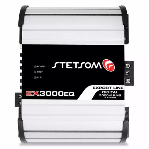 modulo stetsom 2k5 ex3000 eq 3000w rms 1 ohm amplificador