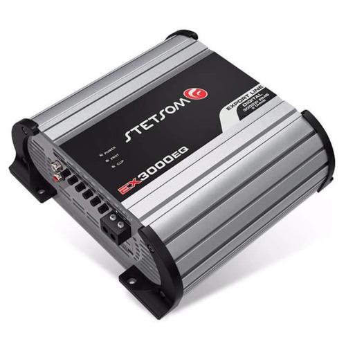 modulo stetsom ex 3000 2k5 eq 2500w rms mono amplificador