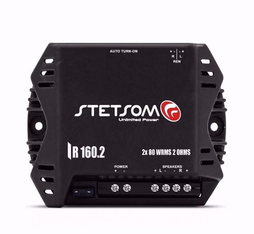 modulo stetsom ir160.2 iron amplificador 160w rms 2 canais