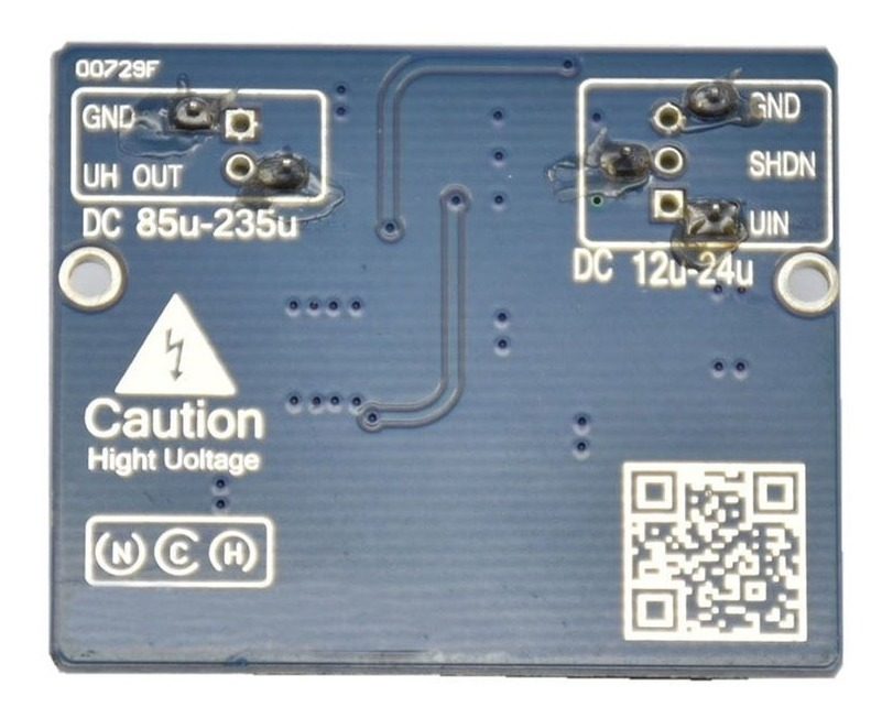 NCH6100HV Alto Voltaje DC Módulo De Fuente De Alimentación Para Magia De Tubo 12V 24V para 85-235V