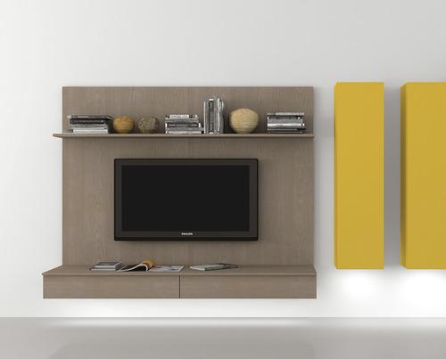 modulo suspendido madera gris marca zalf 2120024