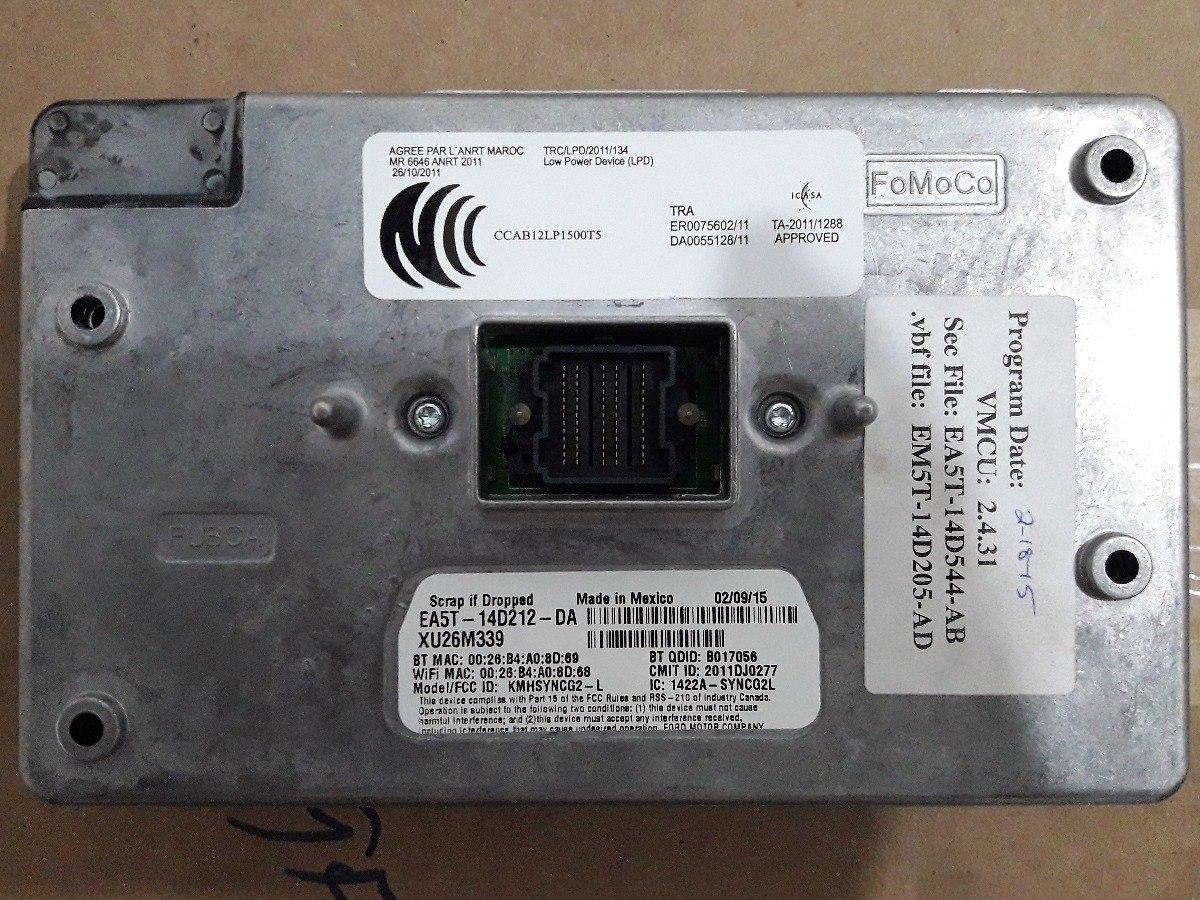 Modulo Sync Ford ( Diversos ) Ea5t 14d212 Da Original Novo