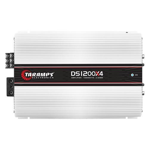 modulo taramps 1200 w rms ds 1200x4 2 ohms amplificador
