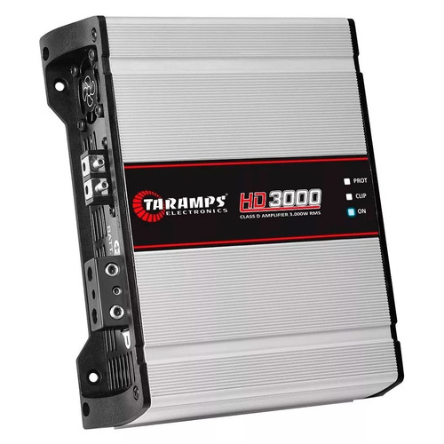 modulo taramps 3000w hd3000 1 ch 2 ohm amplificador hd 3000