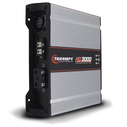 módulo taramps 3500 rms pico hd-3000 1 e 2 ohms bass boost