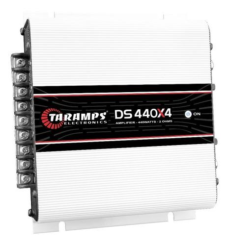 modulo taramps ds 440x4 2 ohms 440w  amplificador automotivo
