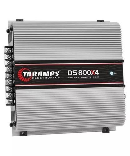módulo taramps ds 800x4 compact 800w rms 4 canais 2 ohm