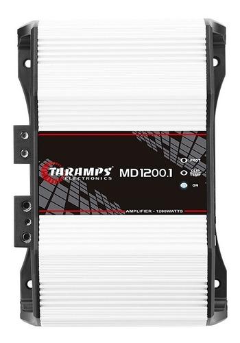 modulo taramps md 1200.1 2 ohm 1200w amplificador automotivo