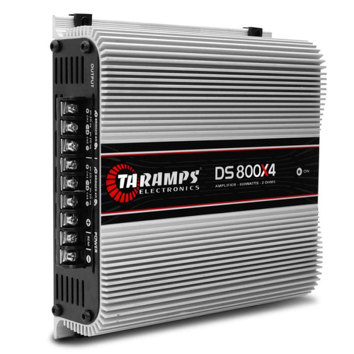 módulo taramps ts-800x4 + controle longa distância tlc-3000