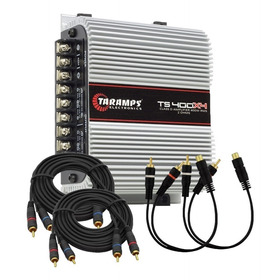 Módulo Taramps Ts400x4 400 Watts Rms 2 Ohms Ts 400