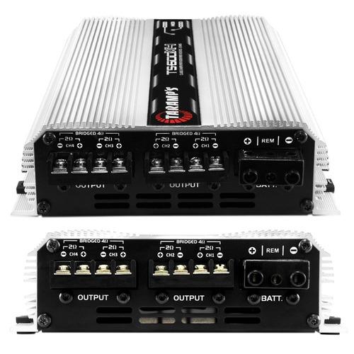 módulo taramps ts600 rca + controle longa distância tlc-3000