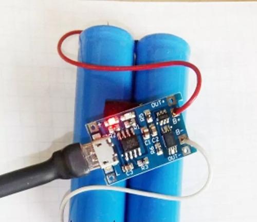 modulo tarjeta de carga 18650 usb tp4056 proteccio powerbank