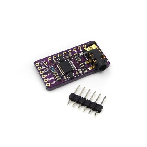 módulo tarjeta interfaz audio i2s pcm5102 dac raspberry pi