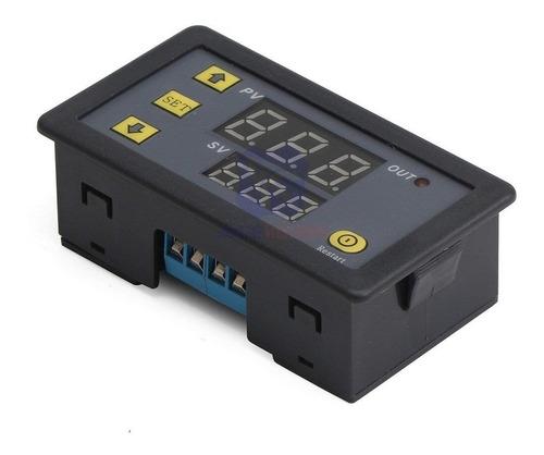 modulo timer temporizador 0-999 s/m/h 12v relay 20a display