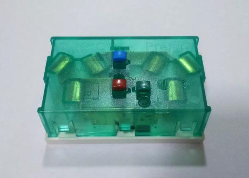 modulo toma doble c/tierra 10 amp 6994/6999 cambre