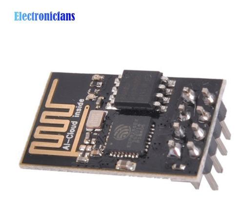 módulo transceptor serial wifi esp8266-01 compativel arduino