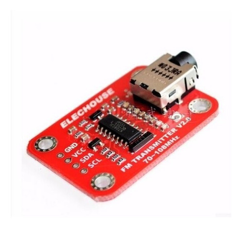 módulo transmisor radio fm audio kt0803l para arduino