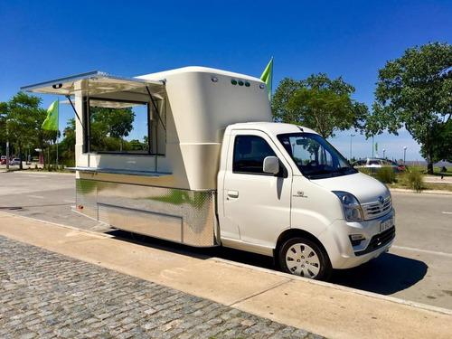 módulo trasero mactrail para food truck