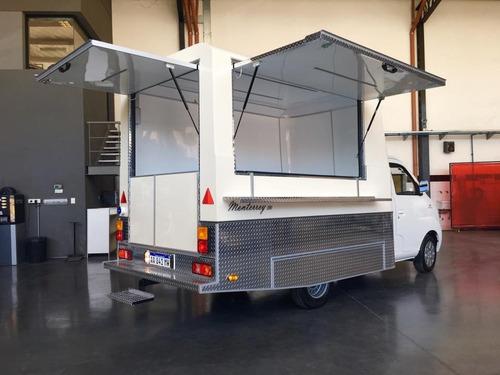 módulo trasero para camión gastronómico food truck