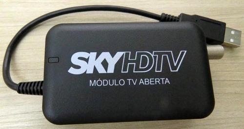 módulo tv aberta sky hdtv dispensa uso de conversor digital