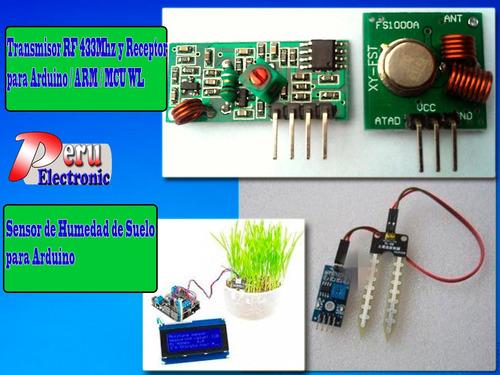 módulo ultrasonido hc sr-04 pic, atmel, arduino