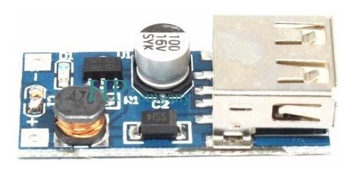 modulo usb dc-dc booster entrada 0.9v-5v, salida 5v 600ma