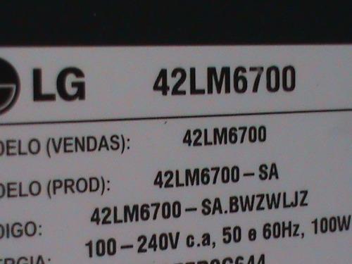 módulo wi-fi  tv led lg 42lm6700